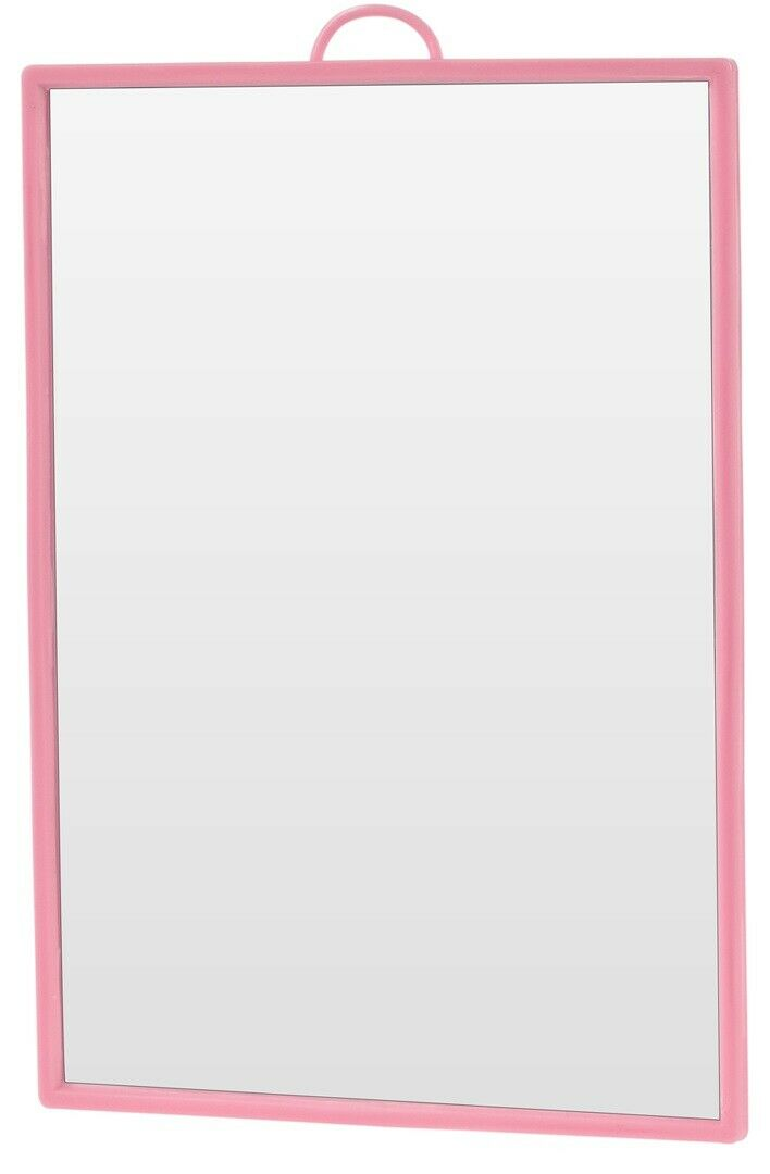 Rectangle Compact Travel Makeup Mirror Bright Colours 17 x 12cm Shaving Mirror