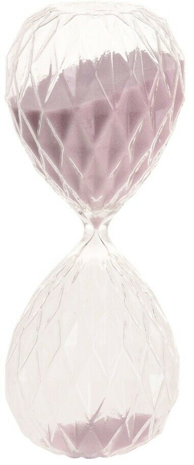 30 Minute Sand Timer Large Diamond Shaped Hour Glass Sand timer Retro Timer