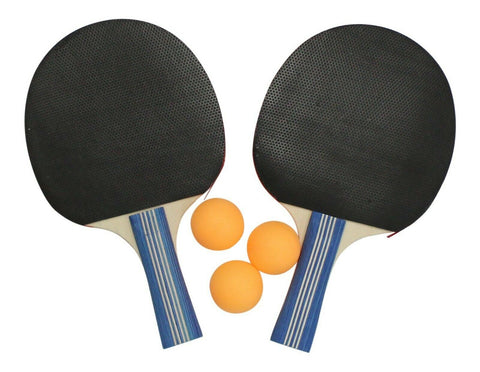 Table Tennis Set. 2 Table Tennis Bats & 3 Balls
