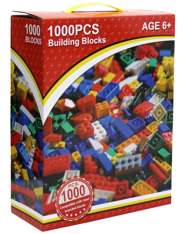 1000 Piece Building Block Set Compatible With Lego
