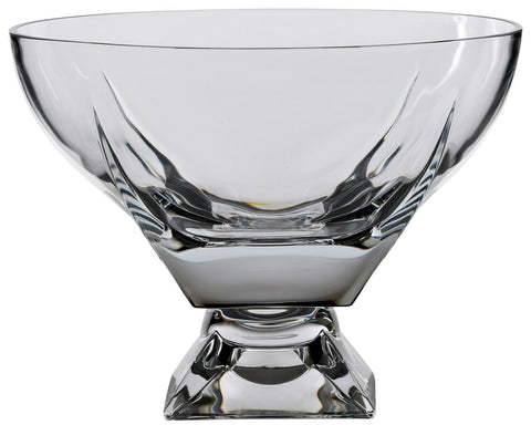 Rcr Crystal 24.5cm Fruit Bowl CentrePiece Bowl Dessert Bowl Salad Footed Bowl