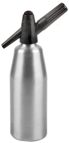 Soda Siphon 1L Seltzer Bottle and Carbonated Drinks Maker & Syphon cartridges