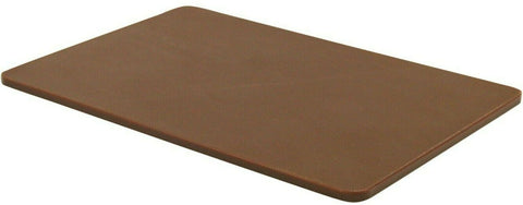 Large Plastic Chopping Board Brown Thick Double Sided Cutting Board 45x30cm