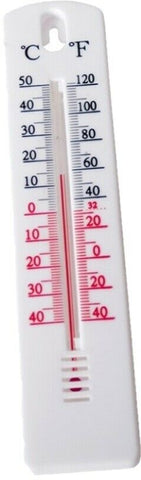 20cm Garden Thermometer Outdoor Thermometer Measures -50 - + 50 Degrees Celsius
