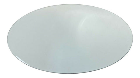 2Pc 30cm Round Mirrored Plate Tray Floral Centrepiece Base Wedding Table Décor