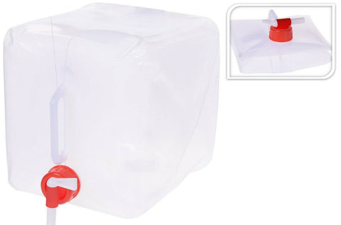 10 Litre Collapsible Jerry Can Water Carrier Container Food Grade Plastic