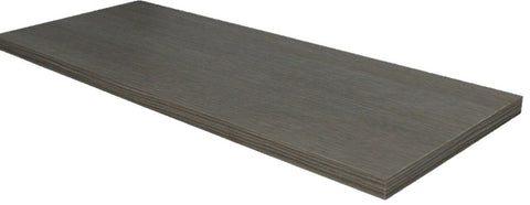 Grey Oak Effect Shelf Board Length 605mm Width 240mm Shelving & Wall Brackets