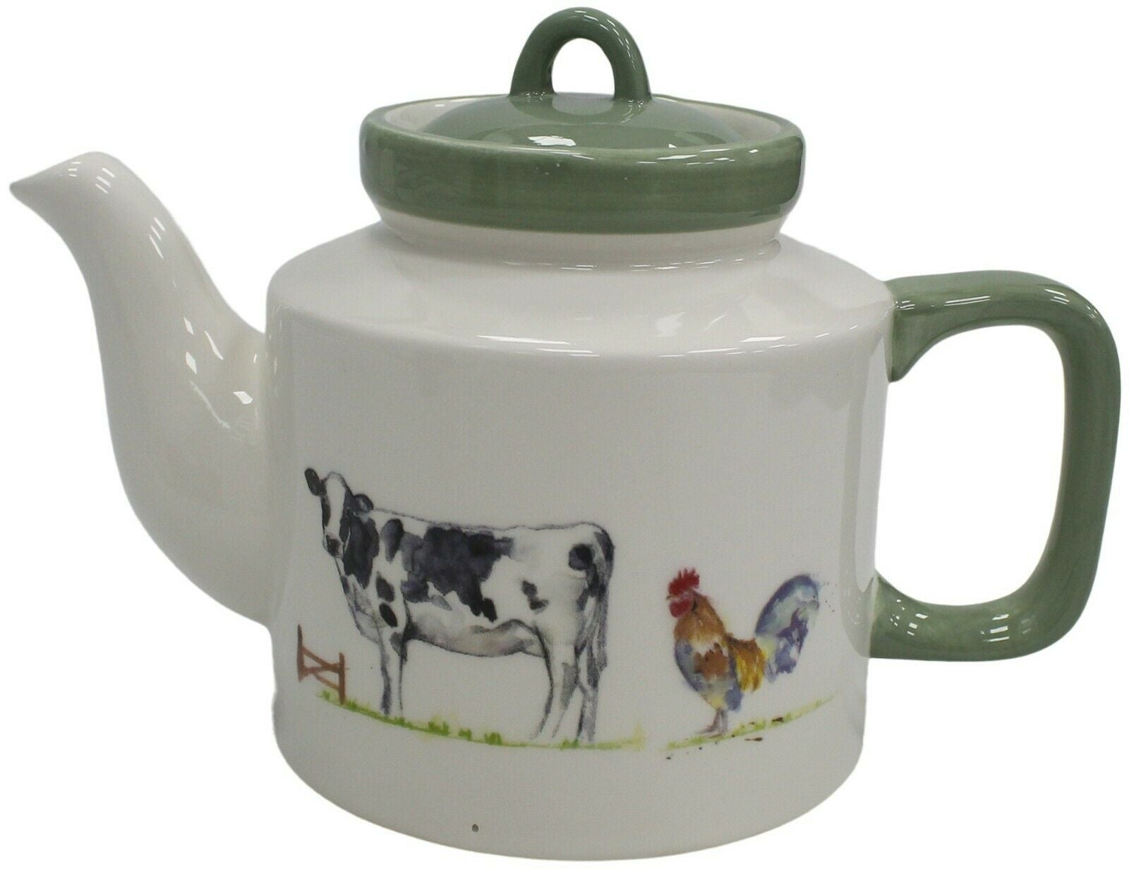 Leonardo Collection Farmyard Country 4 Cup Teapot 800ml Capacity Fine China