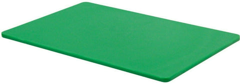 Large Plastic Chopping Board Green Thick Double Sided Cutting Board 45x30cm