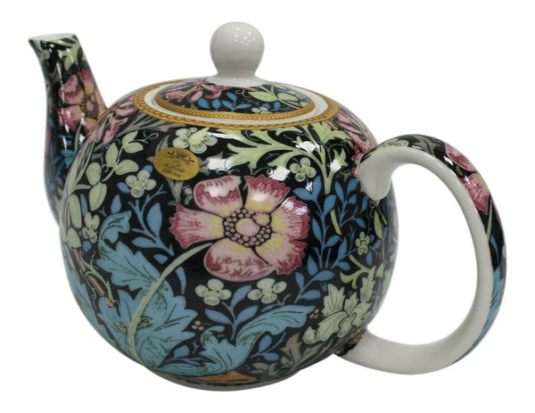 Leonardo Collection Compton Floral 5 Cup Teapot 1000ml Capacity Fine China