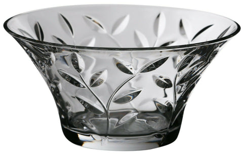 Rcr Crystal 24.5cm Fruit Bowl CentrePiece Bowl Dessert Bowl Crystal Salad Bowl