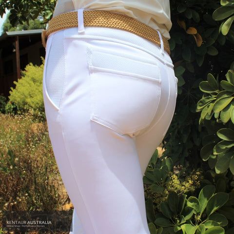 Cavalleria Toscana '3D Mesh Insert' Womens Competition Breeches
