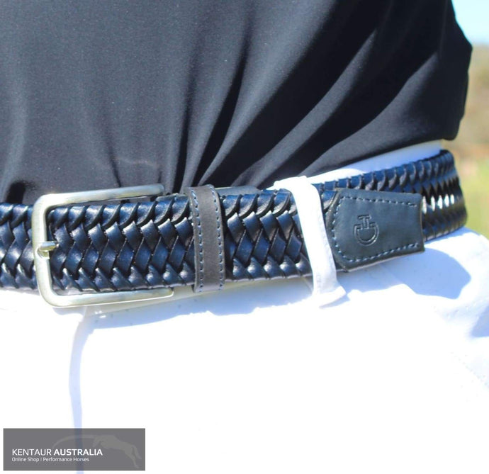 Cavalleria Toscana 'Elastic Leather' Belt Belt