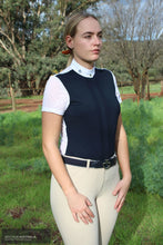 Load image into Gallery viewer, Cavalleria Toscana 'Jersey Elegant' Womens Competition Shirt Competition Shirt