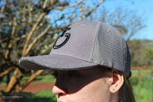 Load image into Gallery viewer, Cavalleria Toscana 'Mesh' Cap Grey (8980) Rider Accessories