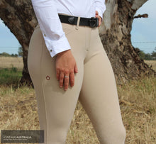 Load image into Gallery viewer, Cavalleria Toscana 'New Grip' Womens Competition Breeches Beige (1003) / AU 6 Competition Breeches