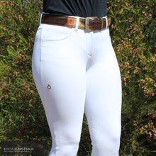 Load image into Gallery viewer, Cavalleria Toscana New Grip Womens Competition Breeches White (0001) / S 4 (ITA 36) / A Competition Breeches