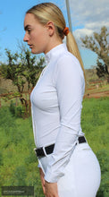 Load image into Gallery viewer, Cavalleria Toscana 'Sheer Rib Knit' Womens Competition Shirt Competition Shirt