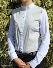 Load image into Gallery viewer, Cavalleria Toscana Technical Shirt with Bib SS19 Womens Competition Shirt Competition Shirt