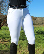 Load image into Gallery viewer, Cavalleria Toscana 'Squared Perforated' Womens Competition Breeches Competition Breeches