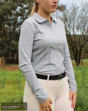 Load image into Gallery viewer, Cavalleria Toscana 'Super CT' Training Polo Light Grey (8000) / S Casual Wear
