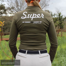 Load image into Gallery viewer, Cavalleria Toscana 'Super CT' Training Polo Olive (5700) / S Casual Wear