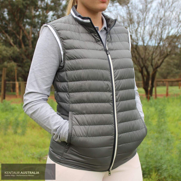 Cavalleria Toscana 'Ultralight Packable Quilted Puffer' Unisex Vest Jumpers and Jackets