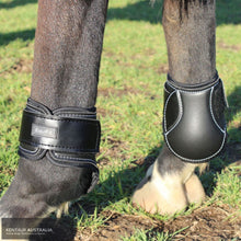 Load image into Gallery viewer, EquiFit Young Horse Hind Boots Black / Small Jumping Boots