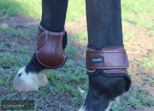 Load image into Gallery viewer, EquiFit Young Horse Hind Boots Brown / Small Jumping Boots