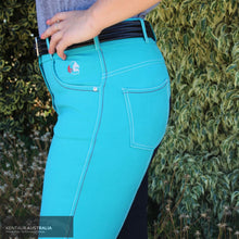 Load image into Gallery viewer, Fairplay Roxana Womens Casual Breeches Granat/ Navy Seat / 40 (L12) Casual Breeches