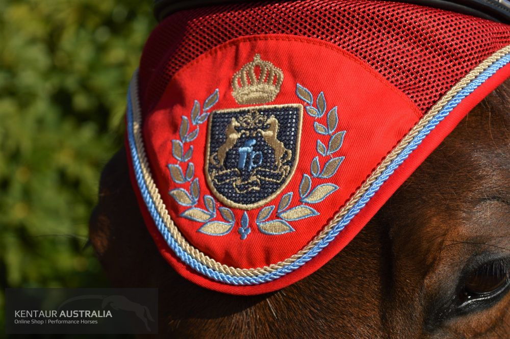 Fairplay Royal Diamond Ear Bonnet Red / Full Ears