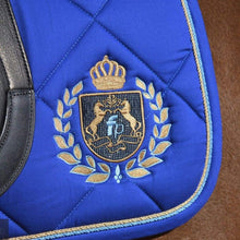 Load image into Gallery viewer, Fairplay Royal Diamond Saddle Pad Blue / Dressage Cloth