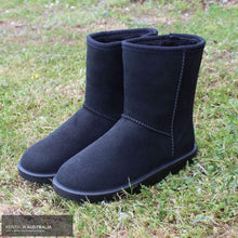 Load image into Gallery viewer, HKM 'Davos' All-Weather Boots Black / 39 Footwear