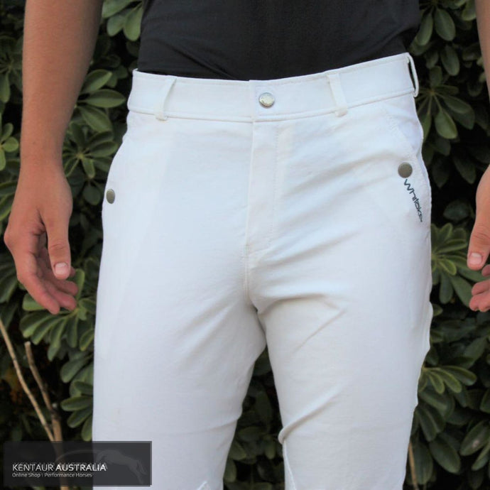 John Whitaker Horbury Mens Competition Breeches White / AU 26 Competition Breeches