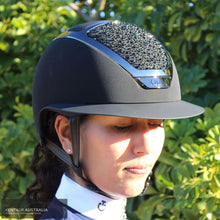 Load image into Gallery viewer, Kask Star Lady Swarovski on the Rocks Helmet Black Kask Helmets