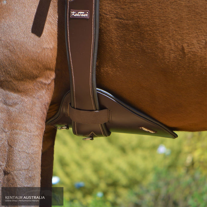 Kentaur Belly Guard Brown jumping girths