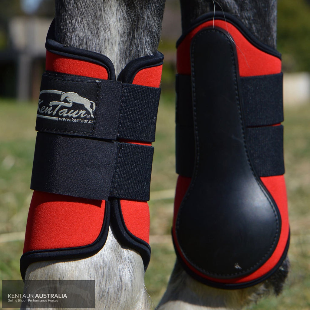 Kentaur Boots With Rubber Shell Dressage