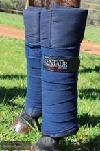 Load image into Gallery viewer, Kentaur 'Fleece' Bandages Navy Bandages/ Underwraps