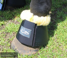 Load image into Gallery viewer, Fluffy leather sheepskin bell boots