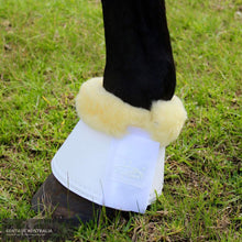 Load image into Gallery viewer, Kentaur Leather Bell Boots With Genuine Sheepskin White / Xxl (28Cm) Bell Boots