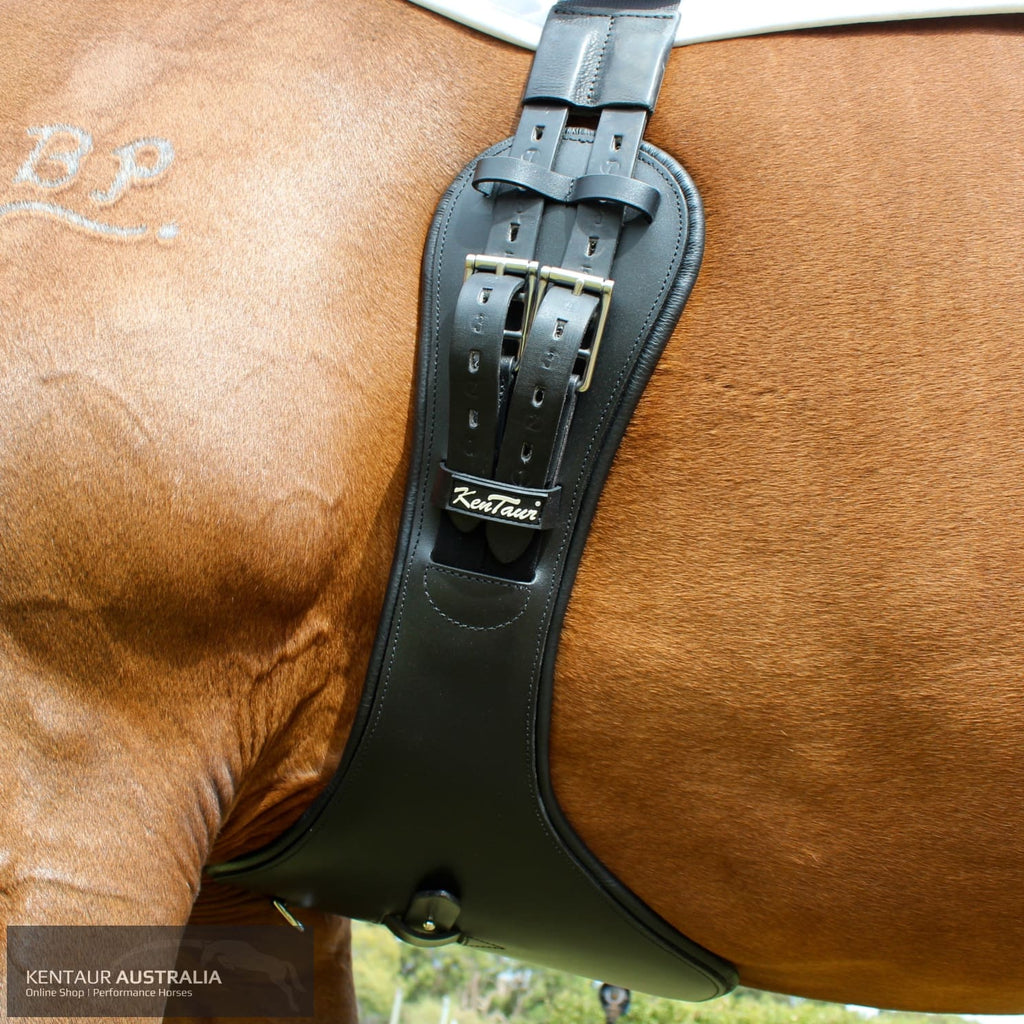 Kentaur Metz Eventing Girth Black / 60Cm Jumping Girths