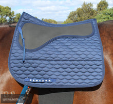 Load image into Gallery viewer, Kentaur Neo Non Slip Saddle Pad Navy / Dressage Saddle Pad