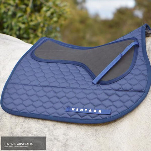 Kentaur Neo Non Slip Saddle Pad Navy / Jumping Saddle Pad