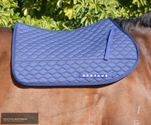 Load image into Gallery viewer, Kentaur Neo Non Slip Saddle Pad Navy / Jumping - Gel Insert
