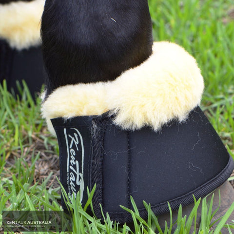 Kentaur Neoprene Bell Boots With Sheepskin