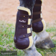 Load image into Gallery viewer, Kentaur Oxford Front Sheepskin Show Jumping Boots Jumping Boots