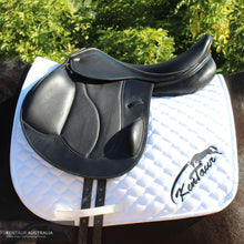 Load image into Gallery viewer, Kentaur Performer Eventing Saddle Black Jumping Saddles