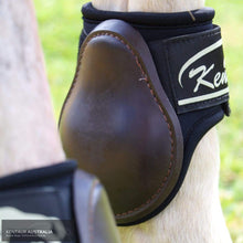Load image into Gallery viewer, Kentaur Pro Carbon Fetlock Boots Brown / Full Jumping Boots