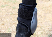 Load image into Gallery viewer, Kentaur Pro Carbon Fetlock Boots Grey / Full Jumping Boots