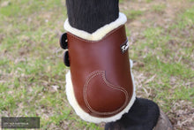 Load image into Gallery viewer, Kentaur Roma Hind Boot With Sheepskin Tobacco / Full Jumping Boots